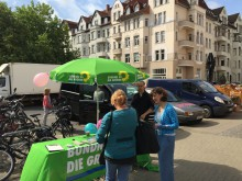 Wahlkampfstand am 05.08.2016